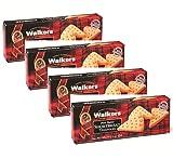Walkers Galletas de mantequilla de pan dulce escocesas en forma de triángulo - 4 x 150 gramos