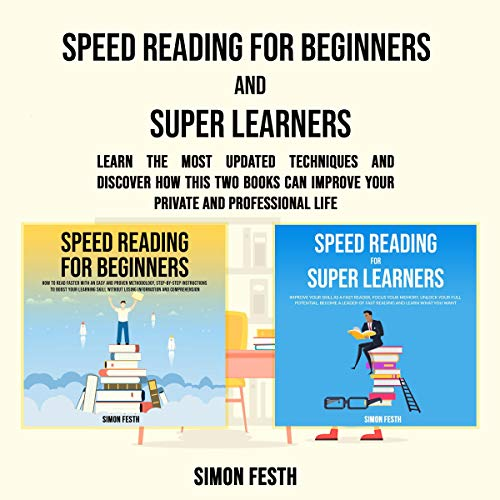 Speed Reading for Beginners and Super Learners Titelbild