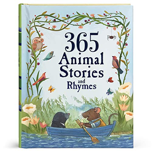 365 Animal Stories and Rhymes (Children's Padded Storybook Treasury)
