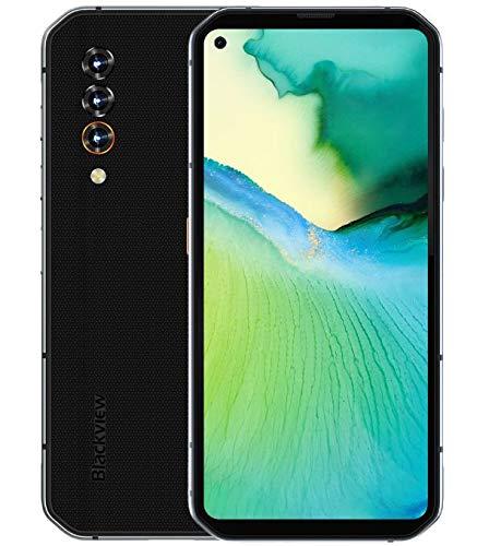 5G Rugged Smartphone Blackview BL6000 PRO, Dimensity 800 8GB RAM 256GB ROM, 6,36'' Display FHD+, Tripla Fotocamera Posteriore 48MP, Ricarica Wireless NFC OTG 5280mAh, IP68 Robusto Telefono Grigio