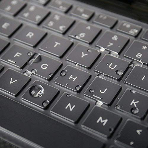 Ultra Thin Keyboard Cover Compatible with 13.3' Dell XPS 13-9360 13-9350 13-9343 Ultrabook Laptop - TPU