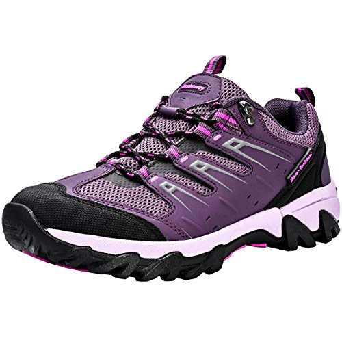 Unisex Kids Hiking Shoes Boys Girs Low Top Trekking Footwear...