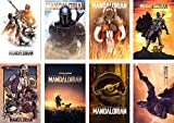 The Mandalorian Poster Modern Office Family Bedroom Decorative 11.5 x 16.5 inches