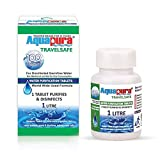 Aquapura Travelsafe, Water Purification Tablets, 100 Tablets Pack, Each Tablet for 1-2 litres Water...
