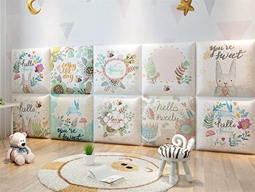 Liveinu 3D Wandpaneel Deckenpaneele Fliesen Wandbezug Wandverkleidung Wanddeko Wandplatten DIY Wärmeisolation Wasserdicht Wandaufkleber für Wände Hintergrund Wand Dekoration 30x30cm Stil 10