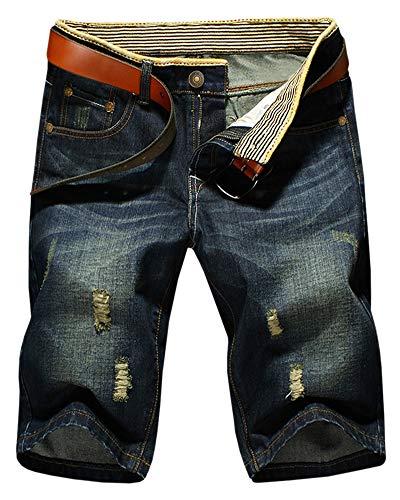 LATUD Men s Casual Denim Shorts US 38