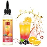 電子タバコ リキッド カシスオレンジ風味 大容量 vapeリキッド リアルフレーバー 独自製法 ミントメンソール10ml付き 自作でブレンド可能 115ml DBL