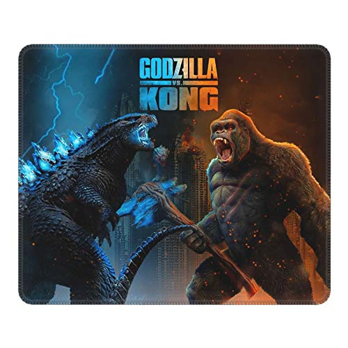 Godzilla VS Kong Mouse Pads Gaming Non-Slip Office Mousepad Rubber Mouse Mat 8.6 x 7 Inch