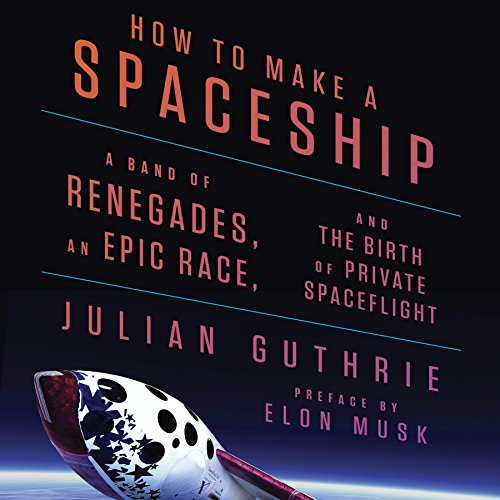 How to Make a Spaceship audiobook cover art