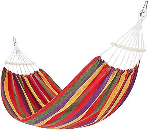 Haa Camping Haa Portátil Canvas Haa Swing Estilo Brasileño Haa con Bolsa Portátil para el Patio Viajes Playa para Patio Yard Jardín 100 Kg / 220 Libras Capacidad Comodidad y durabilidad