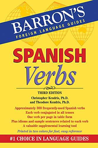 Spanish Verbs (Barron's Verb Series)