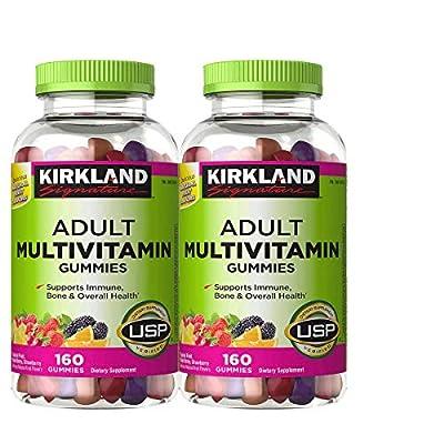 Kirkland Signature Adult Multi Gummies - 320 ct - 2 pk