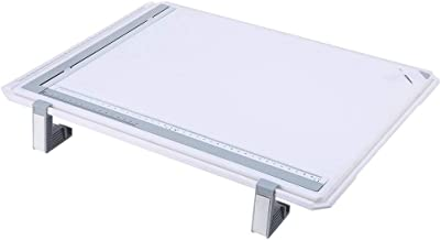 Drawing Board Table, Pro A3 Drawing Board Drafting Table With Clear Rule Parallel Motion and Adjustable Angle