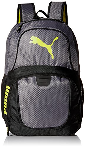 PUMA Men's Evercat Contender 3.0 Backpack, Gray/Black, One Size