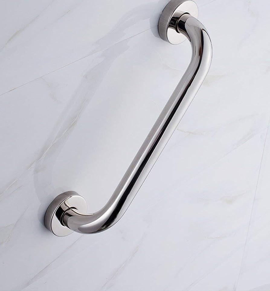 修理可能夜計画的吸盤式シャワー滑り止めアームレスト バスルームアームレストノンスリップ安全ステンレスバスタブ手すりの援助と安全性 (Size : 335cm)