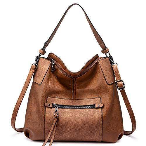 Realer Hobo Large Crossbody Bags with Tassel Now $25.35