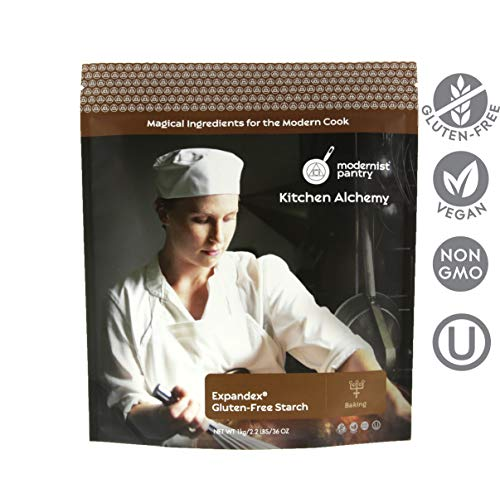 Improved Expandex GF Tapioca Starch - 1kg/2.2lbs/36oz ⊘ Non-GMO ❤ Gluten-Free ☮ Vegan ✡ OU Kosher Certified (Perfect for Gluten-Free Baking)