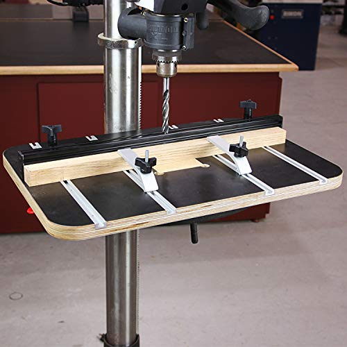 Infinity Tools Plycore Drill Press Table With Fence