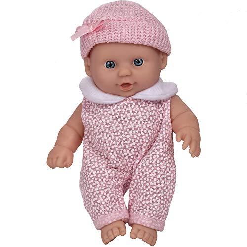 Wowow Toys & Games Baby-Puppe, rosa | Kinder-Puppe, ideal für Kinderwagen, Buggy, Rollenspiel, Spaß für Kinder Jungen und Mädchen
