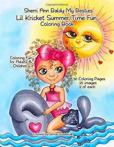 Sherri Ann Baldy My Besties Lil Kricket Summer Time Fun Coloring Book product image