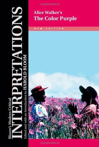 Alice Walker's the Color Purple (Bloom's Modern Critical Interpretations (Hardcover))