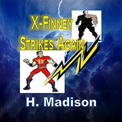 X-Finney Strikes Again audiobook cover art