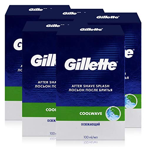 Gillette Series After Shave Cool Wave 100ml (5er Pack)