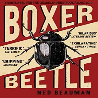 Boxer, Beetle audiobook cover art