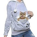 Sudadera con Capucha Unisex para Cachorro y Portador de Gato, Camisa de Jersey para Perro Pequeño para Mascotas