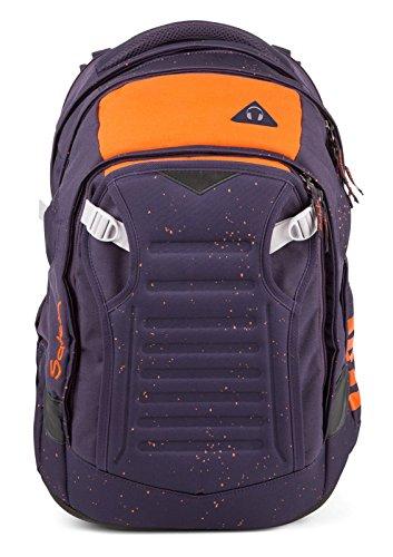 satch match Optimus Orange 3er Set Rucksack, Tripleflex & Regenhaube - SONDEREDITION
