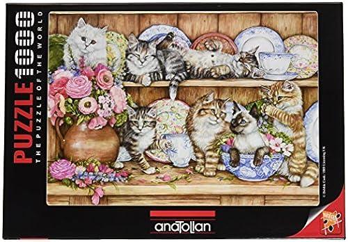 1000 Piece - Anatolian Puzzle - Kittens Puzzle by Anatolian