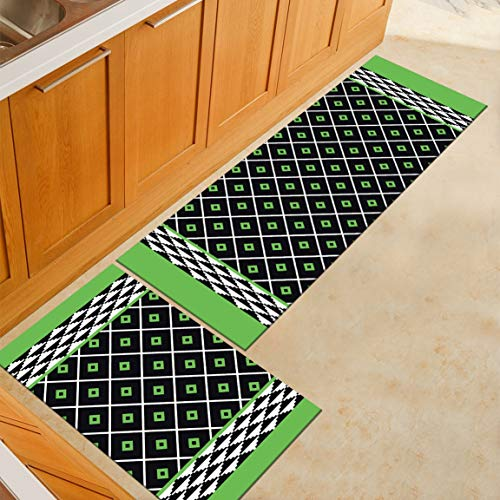 HLXX Alfombrillas de Cocina Antideslizantes de Estilo Simple, alfombras de Sala de Estar, Alfombrillas de baño, alfombras de Dormitorio, Alfombrillas de Noche A2 40x60cm