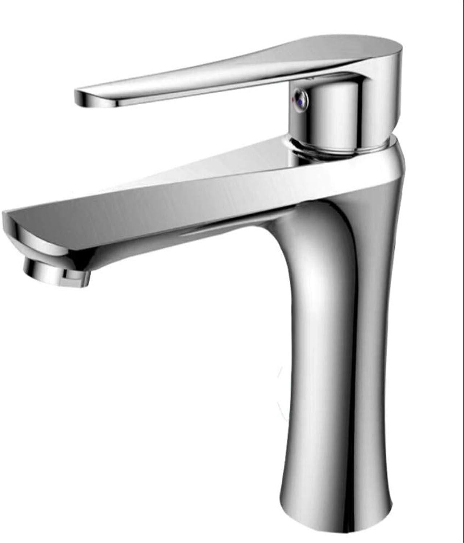 Basin Taps Swivel Spout Faucet Copper Basin Faucet Cold and Hot Toilet Washbasin Washbasin Washbasin Household Single-Hole Faucet