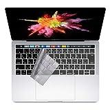 i-Buy MacBook Pro 13 15 キーボードカバー 防水 防塵カバー 保護 キースキン 保護 フィルム 日本語 JIS配列 対応A2159 / A1989 / A1706 / A1707 超薄型 清潔易い 13/15 インチ マックブック エアー 適合 - TPU Clear