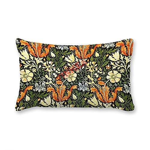 VinMea Fundas decorativas de almohada lumbar, 40 x 60 cm, para sofá, silla, asiento