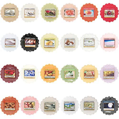 Yankee Candle set di tart, fragranze varie, confezione da 24