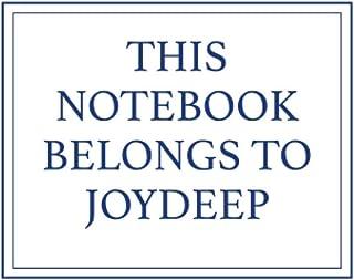 This Notebook Belongs to Joydeep