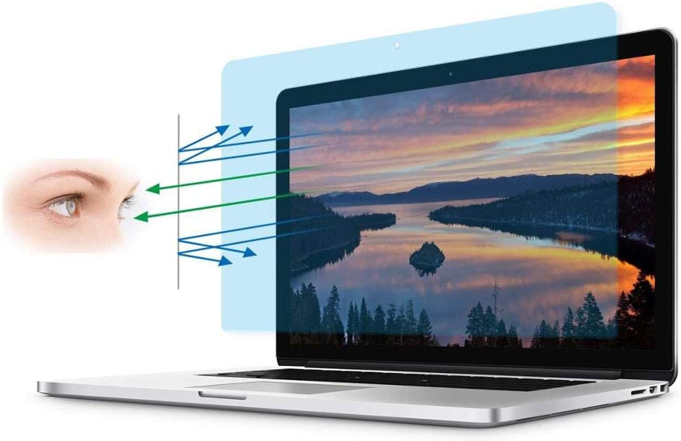 A Z Technology Blue Light Blocking Screen for 14.0-inch Laptop – 2 pcs Blue Light Filter for Laptop –Anti Blue Light Protector Screens - Anti Radiation and Scratches – Multilayer Film