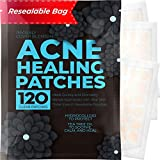 Acne Patches (120 Count) with Tea Tree Oil, Hydrocolloid Pimple Patches for Face - Zit Patch...