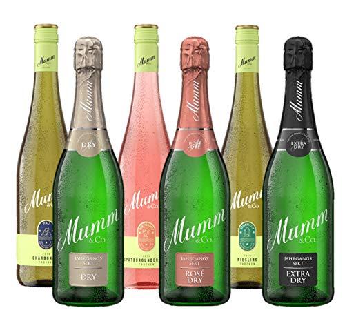 Mumm Mixpaket Sekt und Wein(6 x 0,75l)