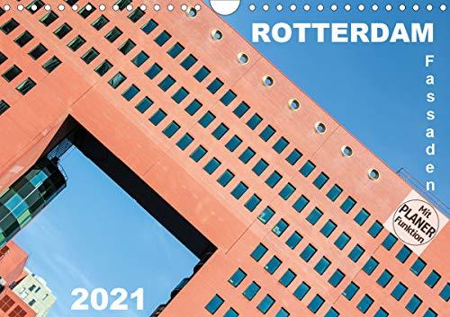 Rotterdam Fassaden (Wandkalender 2021 DIN A4 quer)