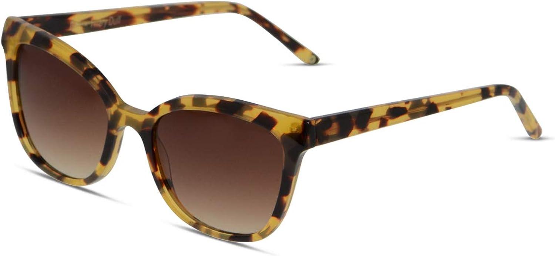 Hilary Duff Muse Zora Square Women Designer Sunglasses UV Predection Nonpolarized