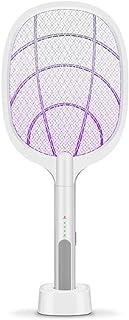 Decdeal Lámpara Antimosquitos 2 en 1 USB Batería de Litio Carga electrónica Swatter Gran Voltaje Triple protección Swatter electrónico
