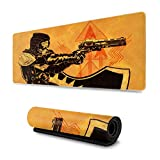 Destiny Games Mouse Pad Rectangle Non-Slip Rubber Electronic Sports Oversized Large Mousepad Gaming Dedicated,for Laptop Computer & PC 11.8X31.5 Inch
