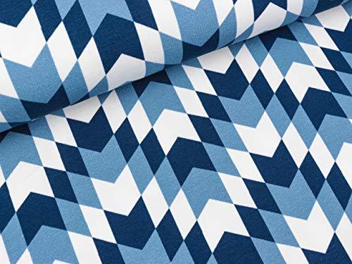 Swafing Modal Sweat New York donkerblauw/rook blauw/wit door Lila-Lotta FS19