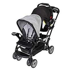 in budget affordable Stroller Baby Trend Sit and Stand Ultra Morning Mist