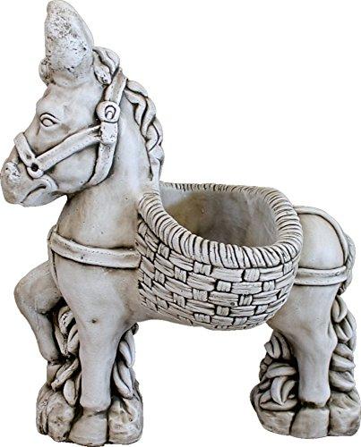 DEGARDEN AnaParra - Statuetta decorativa decorativa in pietra per giardino o esterno, 77 cm