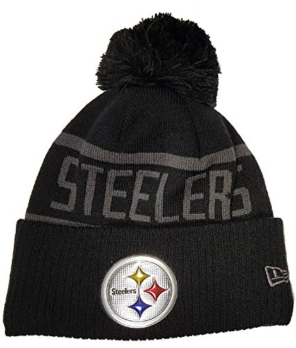 New Era Pittsburgh Steelers Beanie NFL Black Collection Black - One-Size