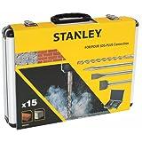 STANLEY STA54422-XJ Juego de 15 piezas SDS+ en maletín resistente