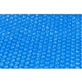 Aqualux - Lona para piscina de burbuja para calentar el agua de su piscina, 180 μ, diámetro 457 cm, color azul